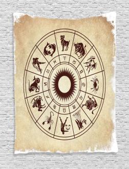 Zodiac Horoscope Sign Tapestry