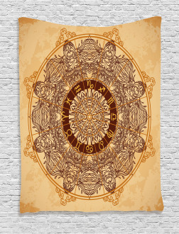 Astrology Aged Tapestry