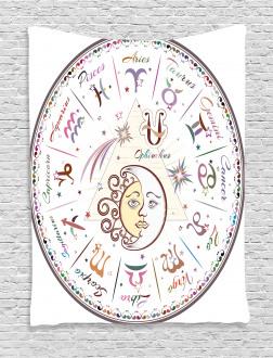 Astrological Horoscope Tapestry
