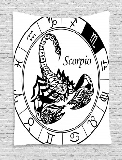 Astrology Signs Scorpio Tapestry