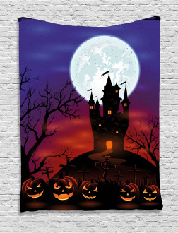 Haunted Castle Tapestry