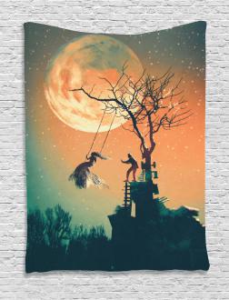 Zombie Bride Groom Tapestry