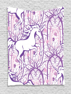 Magic Fairytale Forest Tapestry
