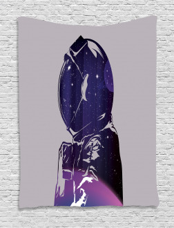 Astronaut Space Outer Tapestry