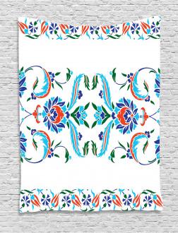 Ottoman Tulips Tapestry