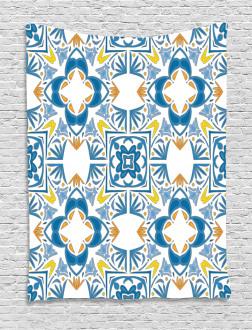 Spanish Retro Tapestry