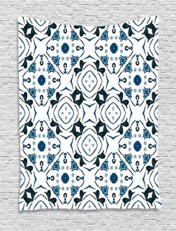 Victorian Petals Tapestry