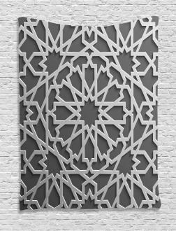 Moroccan Heraldic Empire Tapestry