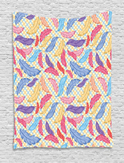 Colorful Checkered Tapestry