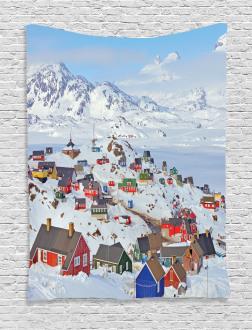Frozen Winter Design Tapestry