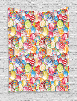 Sweet Candy Store Tapestry