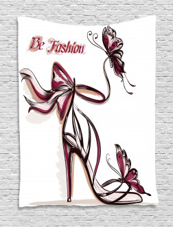 Classy High Heels Fashion Tapestry