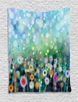 Flying Dandelions Art Tapestry