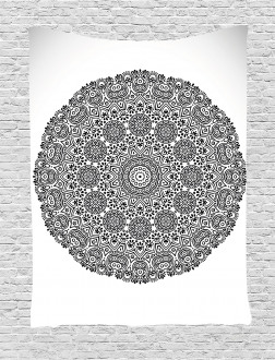 Mandala Lace Art Tapestry