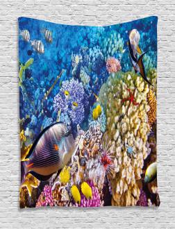 Ocean Beauties Tapestry