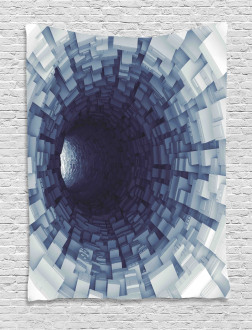 Digital Print of Tunnel Tapestry