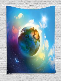 Cosmos Vibrant Scenery Tapestry