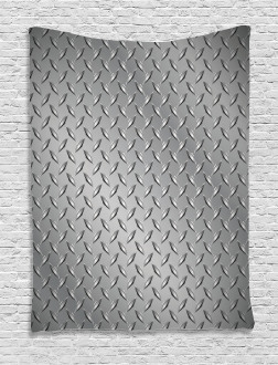 Diamond Plate Effects Tapestry