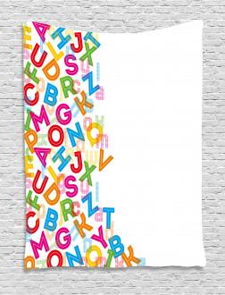 Alphabet Lettering Tapestry