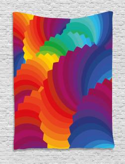 Sea Shell Stripes Tapestry