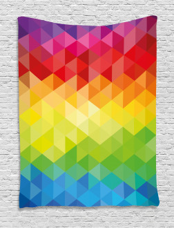 Triangle Daimond Tapestry