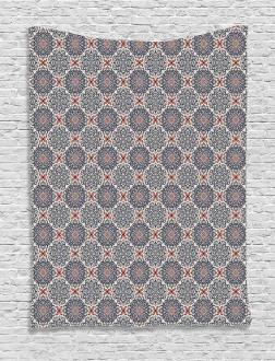 Boho Floral Vintage Tapestry