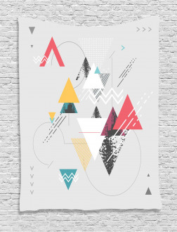 Triangle Geometric Tapestry
