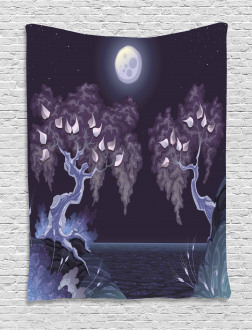 Magical Dramatic Night Tapestry