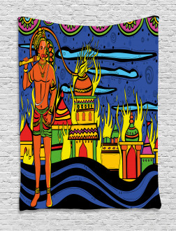 Bohemian Oriental Art Tapestry