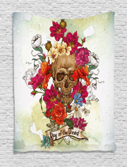 Dead Flowers Spain Tapestry