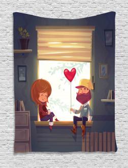 Love Romantic Couple Tapestry
