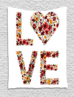 Garden Fowers Tapestry