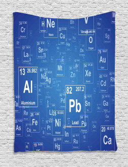 Tv Show Theme Chemistry Tapestry