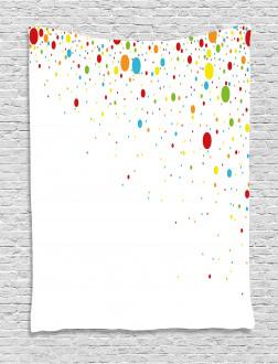 Spots Like Confetti Tapestry