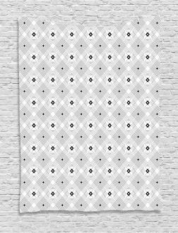 Modern Squares Tapestry