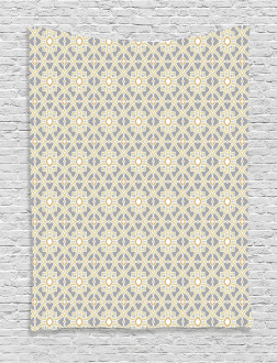 Moroccan Floral Art Tapestry