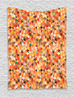 Abstract Vibrant Motif Tapestry