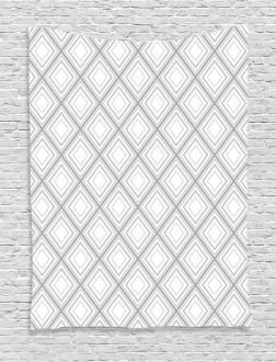 Minimalist Squares Tapestry