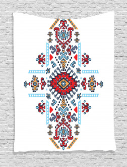 Mexican African Pattern Tapestry