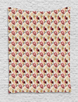 Country Bouquet Blossom Tapestry