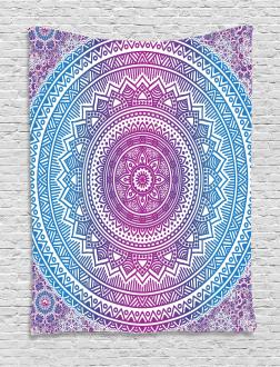 Mandala Pattern Tapestry