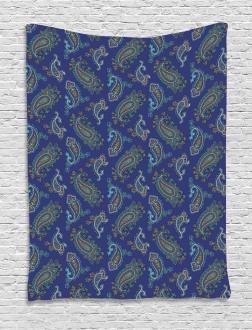 Ethnic Droplet Motif Tapestry
