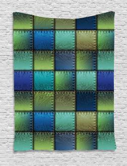 Modern Geometric Bohem Tapestry