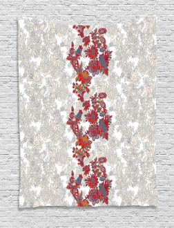 Romantic Vİbrant Boho Tapestry