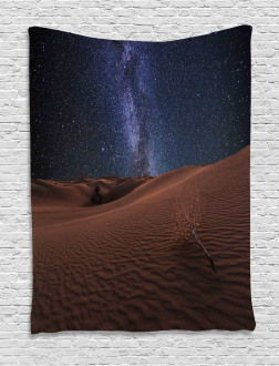 Desert Lunar Life on Mars Tapestry
