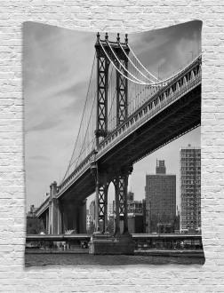 Bridge in New York City Tapestry