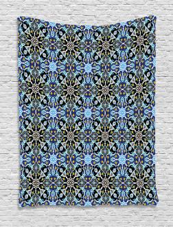 Eastern Arabic Pattern Tapestry