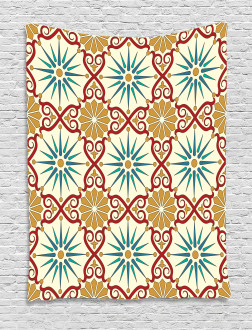 Sacred Geometric Forms Tapestry