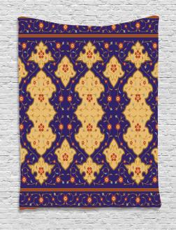 Arabic Effected Border Tapestry
