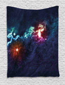 Cosmos Galactic Star View Tapestry